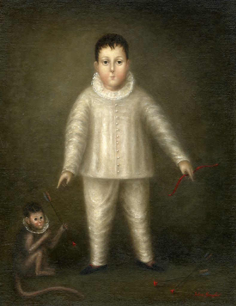 Young Pierrot as Hunter