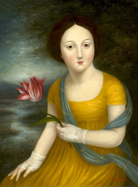 Lady with a Tulip