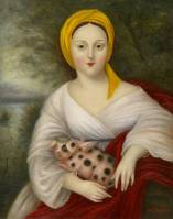 Lady with a Marvelous Pig ●