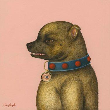 Dog with Master's Eye I ●