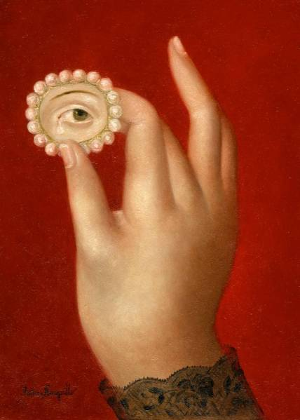 Hand with Lover's Eye ●