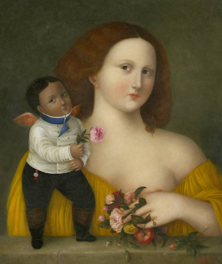 Flora with Cupid  ●