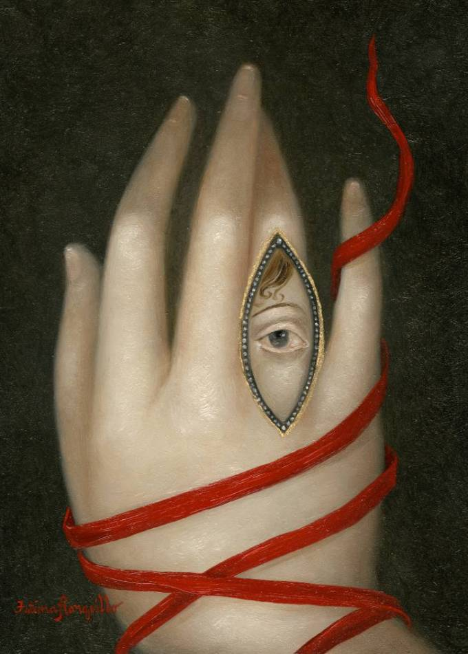 Bound Hand with Lover's Eye