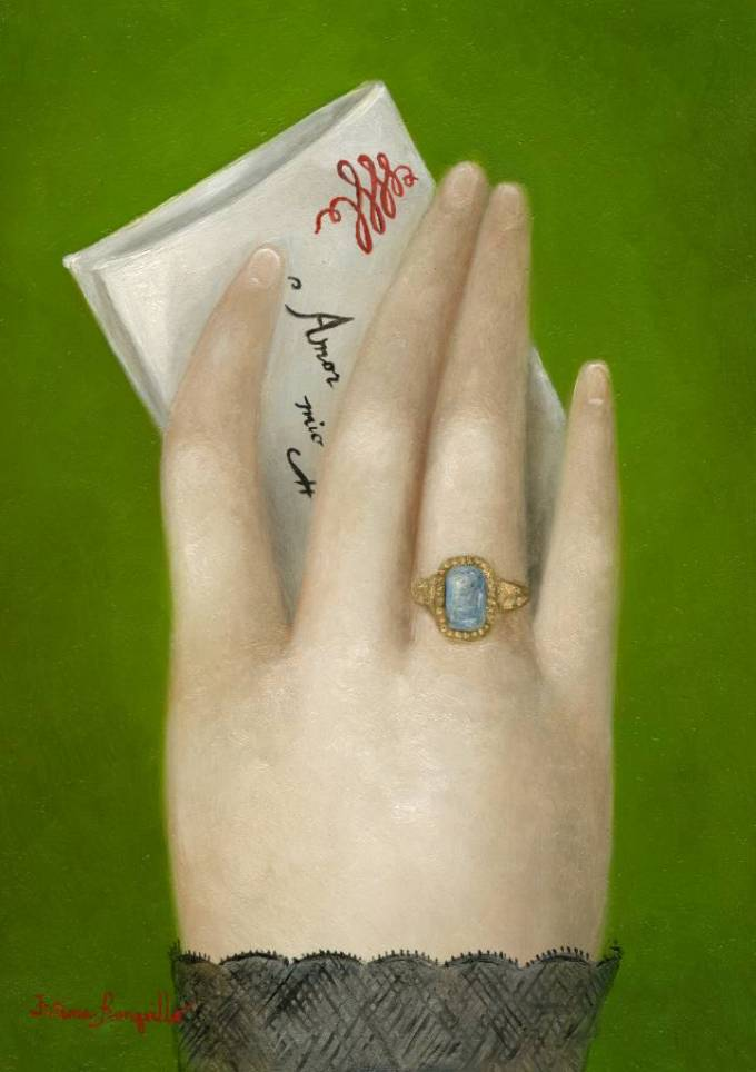 Hand with Billet Doux