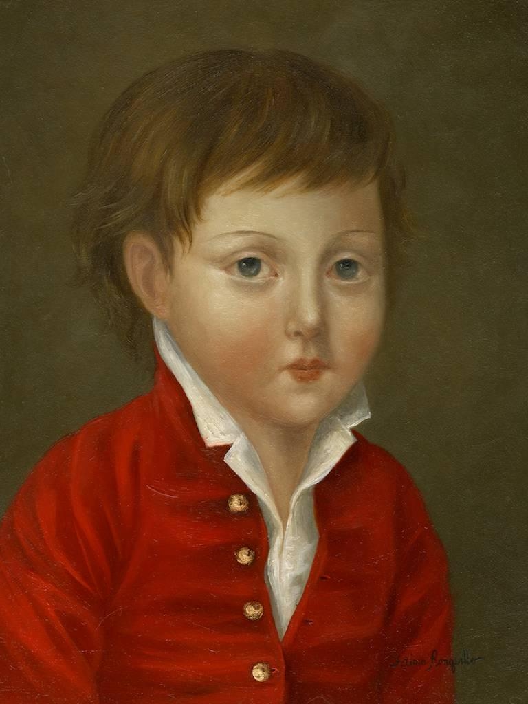 Boy in Red Jacket ●