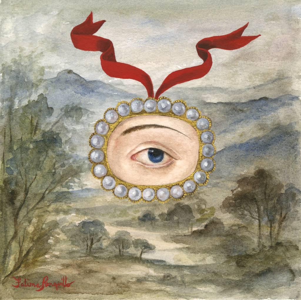 Lover's Eye in a Landscape