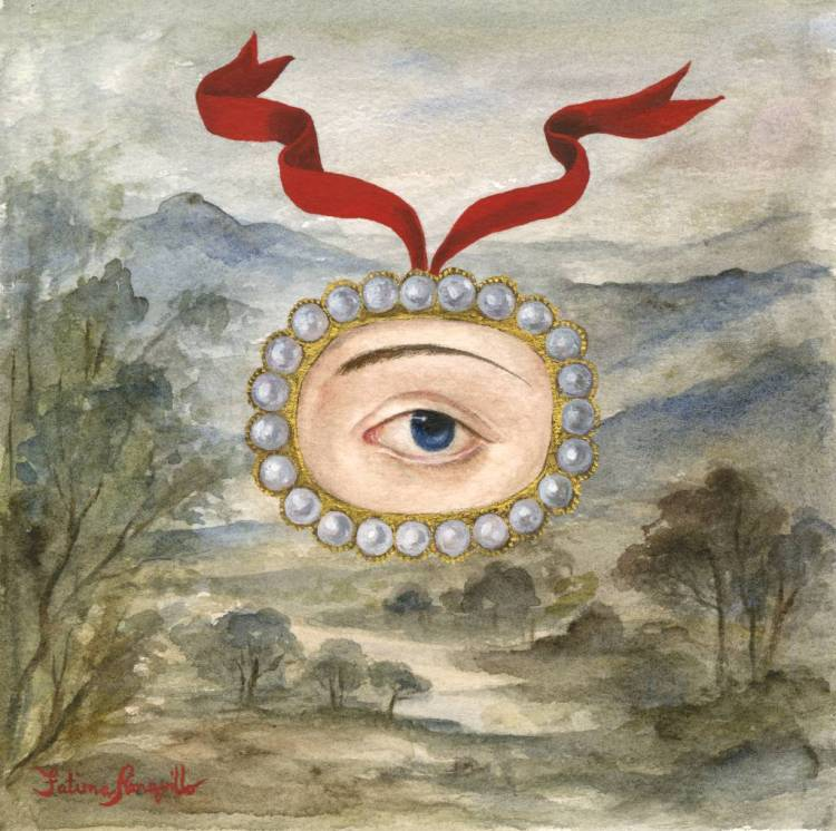 Lover's Eye in a Landscape