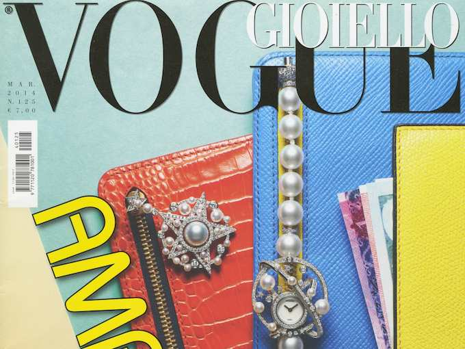 """Bound Hand with Lover's Eye"" in ""Vogue Gioiello"""