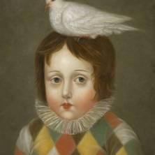 Acrobat with Dove