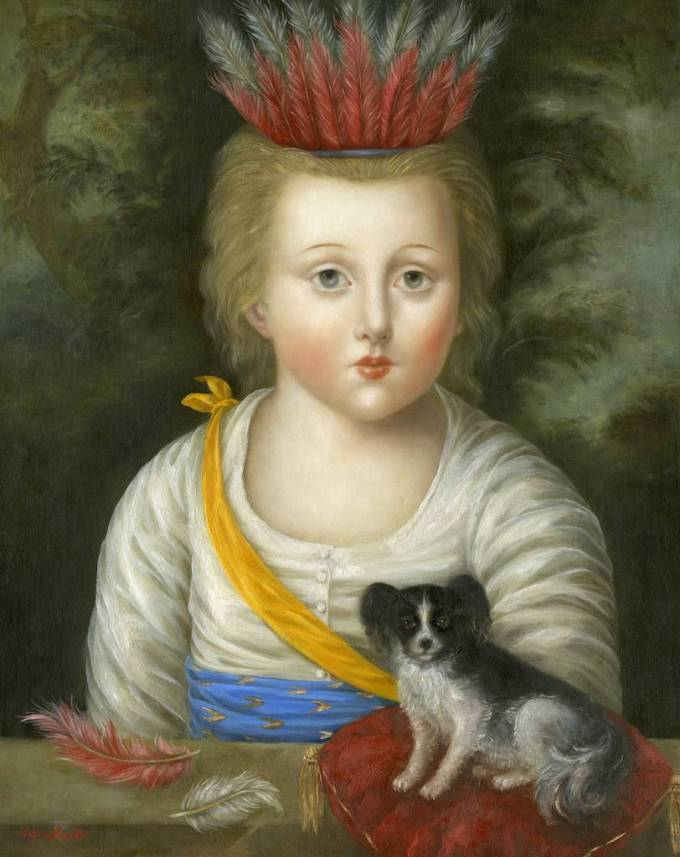 Little Chief with Dog