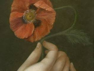 Hand with Poppy
