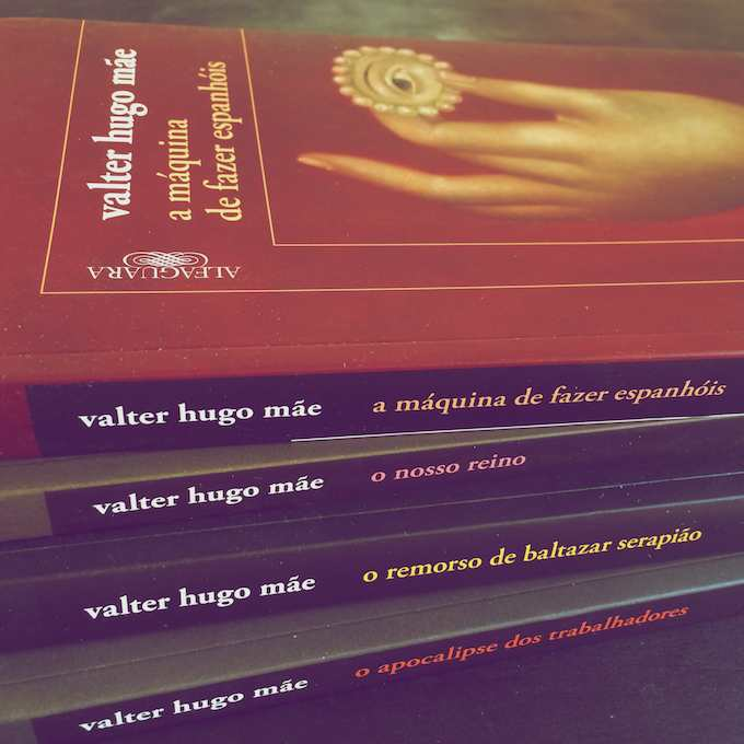 Book Covers for Valter Hugo Mãe