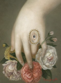 Hand with Roses and Lover's Eye