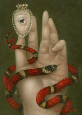 Hand with Snake and Weeping Eye