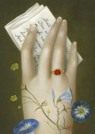 Hand with W.S.'s Sonnet 18