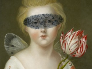 Psyche with Blindfold andTulip