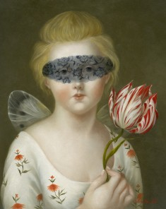 Psyche with Blindfold and Tulip