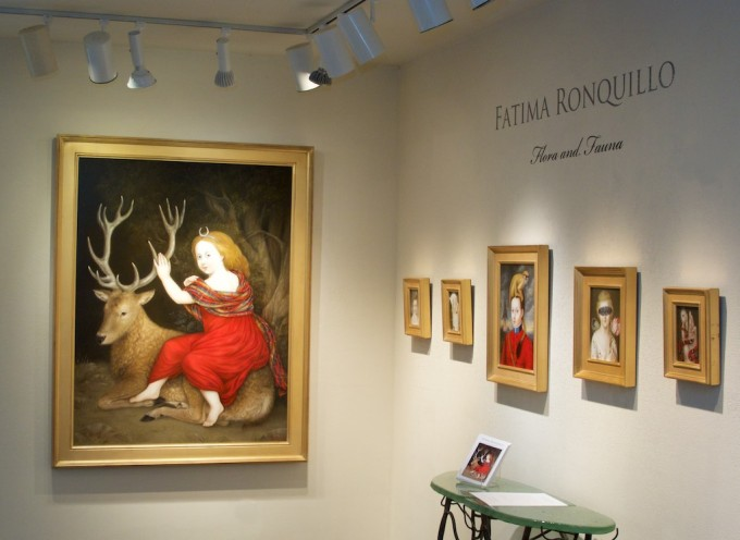 """Flora and Fauna"" opening night"