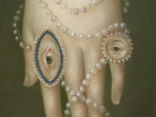 Hand with Pearls and Lovers' Eyes