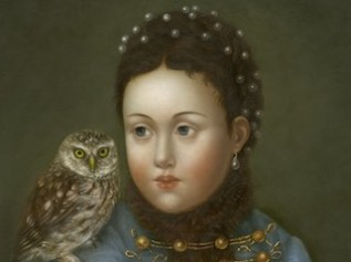 Athena with Little Owl