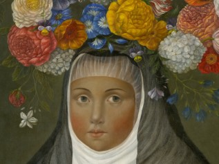 Crowned Nun with Marmoset