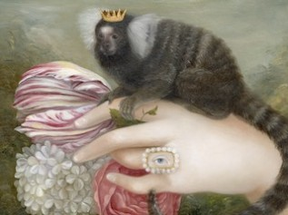Hand with Crowned Marmoset